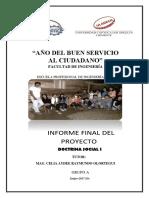 Informe Final de Doctrina Ciclo II