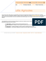 outils agricole