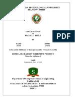 Db Report Format