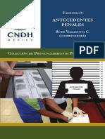 59 - Antecedentes Penales. Colección CNDH - Obra Colectiva
