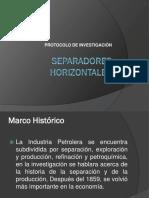 separadores horizontales