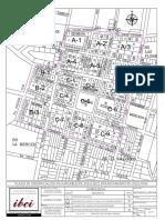 Plano de nomenclatura del Municipio de Jiquilisco.
