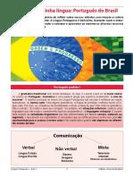 Aula 1 - Língua Portuguesa 1ª Série