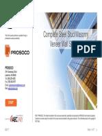 EC (104FC2019-1.5h) - 190905 - AEC + Prosoco - Complete steel stud-masonry veneer wall systems