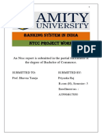 NTCC Banking System in India