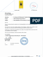 Non-Availability of IFC Drawing _phase-02
