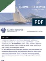 Ellomeh Hrs Coperate Profile