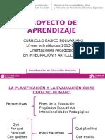 Formación Planificación y Evaluación Primaria(1)