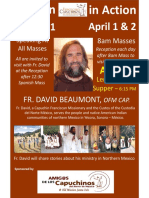 Fr David Visit - 2019 - Posters and Flyers