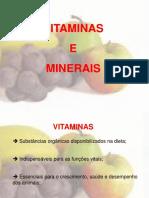 Vitaminas e Minerais 1