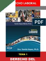 DERECHO LABORAL PRIMER PARCIAL 2019-1 [Autoguardado].pptx