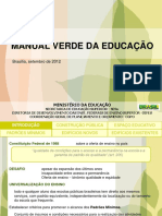 Manual Verde Da Educacao