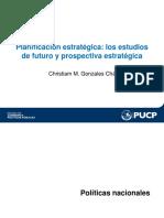 Planificacion Estrategica - Estudios de Futuro y Prospectiva Estrategica