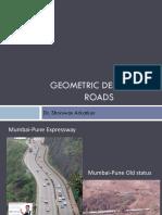 Geometric Design of Roads
