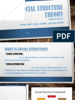 Social Structure Theory