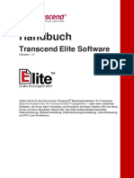 Handbuch Transcend Elite Software