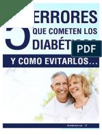 Consejos Para Diabéticos y Que Errores Evitar