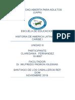 Tarea 3 Historia de America y El Caribe 1