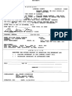 Warrant and Fact Sheet Lowndes Co Sheriff