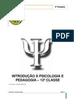 Manual de Introdução à Psicologia e Pedagogia - 12ª Classe - 3º Trimestre - 2018