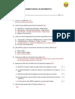 II Parcial - Informatica