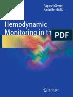 Hemodynamic Monitoring in the ICU (2016) [PDF] Www.medicalbr.tk