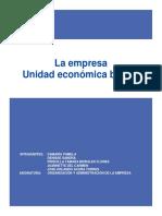 ORGANIZACIÓN Y ADMINISTRACIÓN DE LA EMPRESA M3-E1 IPP
