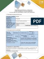 Guia de actividades y rúbrica de evaluación - Tarea 4 - Plantear propuesta de solución estudio de caso