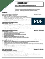jason kempf resume
