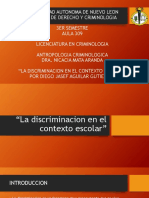 La Discriminacion en El Contexto Escolar (DJAG)
