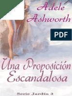 Adele Ashworth - Serie Jardín 03 - Proposición Escandalosa