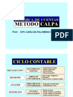 Dinamica de Cuentas Metodo Calpa - PDF