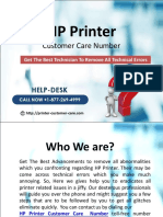 HP E l8772694999 Printer Customer Care Number