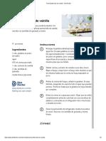 Pannacotta Keto de Vainilla - Diet Doctor