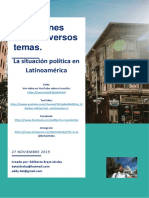 Situación Política Latinoamericana