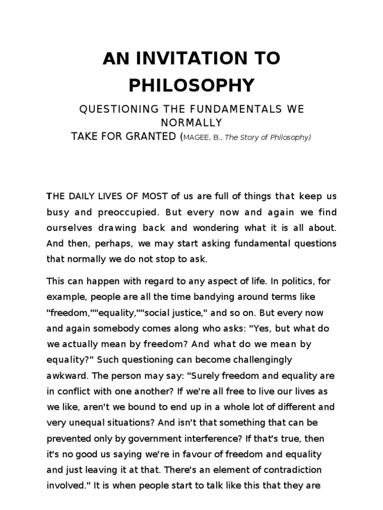 Why do people live philosophical arguments about the meaning of life 52