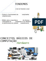 Noções Básicas de Computação - Hardware