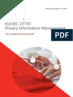 ISO 27701 Implementation Guide ES En