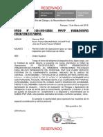 Orden Operaciones Relevo 2018 Cerro Del Aguila Mar18