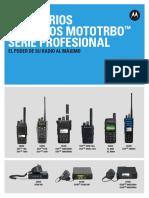 MOTOTRBO Professional Tier Accessory Catalog ES LR