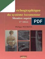 atlas d'echographie du systeme locomoteur tome 1.pdf