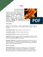 Unidad 6.- Fuego