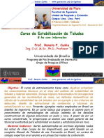 Curso de Estabilización de Taludes - Univ Piura - Fev 2018 (Descripción)