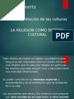 Clifford Geertz - Religion en la Interpretacion de las Culturas