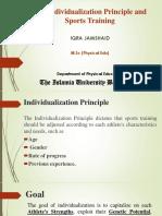 Individualization Principle