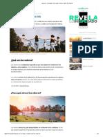 Valores_ Concepto, Para qué sirven y Tipos de valores.pdf