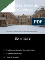 Versailles, miroir de l'absolutisme