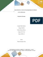 Construcción de La Hipotesis - Psicopatologia de La Infancia y Adoslescencia (1)