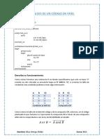 Análisis de Un Código en Vhdl