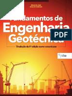 Fundamentos de Engenharia Geotécnica - Tradução Da 8ª Edição Norte-Americana - Braja M. Das; Khaled Sobhan